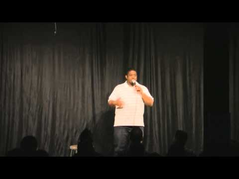 "Jelani Greenidge stand-up comedy: ""interracial marriage / weird name"""