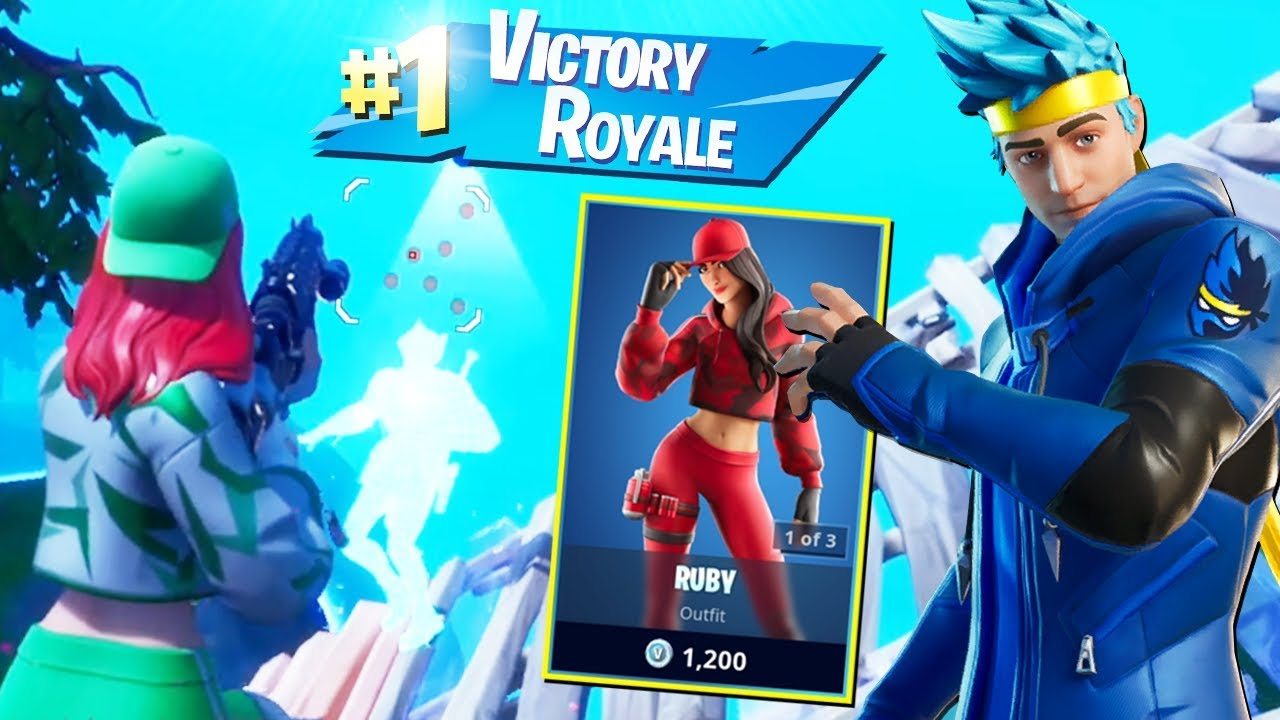 Cumpar SKIN lui NINJA pentru un EPIC Victory Royale! Fortnite