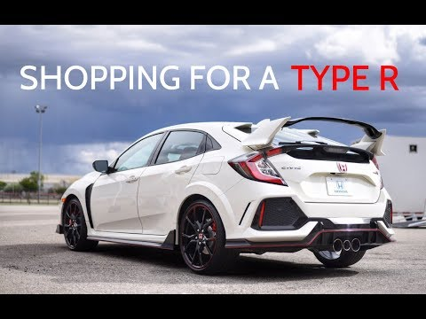 2017 Honda Civic Type R - THE SEARCH BEGINS!!