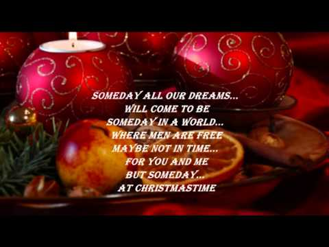 Someday At Christmas Lyrics.Stevie Wonder Someday At Christmas