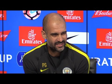 Pep Guardiola Full Pre-Match Press Conference - West Ham v Manchester City - FA Cup