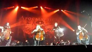 Sacra - Apocalyptica - Live @ Zénith de Paris, Octobre 31st 2010