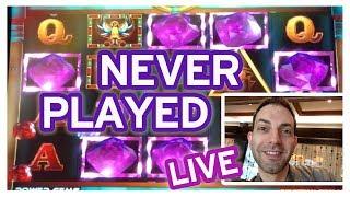 *NEVER PLAYED* Power Gems 💎 @ Pechanga Casino ✦ Slot Machine Pokies w Brian Christopher