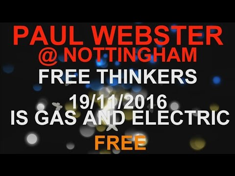 PAUL WEBSTER IS GAS & ELECTRIC FREE?