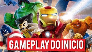 LEGO Marvel Super Heroes | Gameplay do Início (PC Gameplay PT-BR Português)