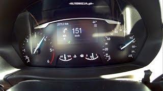 2017 Ford Fiesta 1.5 TDCi 120 hp acceleration 0-150 km/h, 0-100 km/h