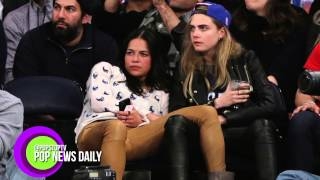 Michelle Rodriguez Vs. Miley Cyrus - Who Kissed Cara Delevingne Better?