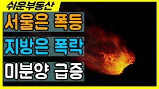 서울은 폭등하고 지방은 폭락하고 미분양 급증하고 이게 …