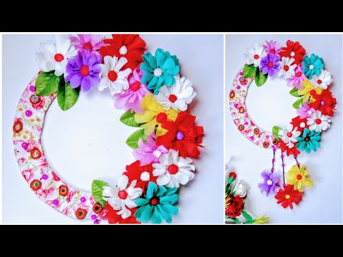 How to Make Beautiful Wall Hanging Using Old Shopping Bag | DIY Home Decor | DIY Wall Hanging |