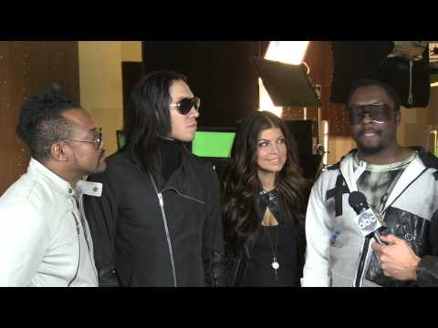 Black Eyed Peas Interview - NYRE 2010