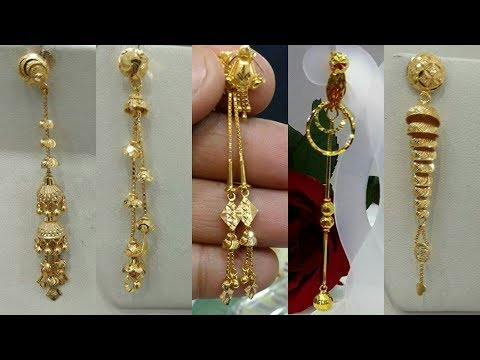 Download Latest gold earrings designs