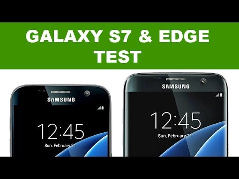 samsung galaxy s7 edge test et comparatif review youtube