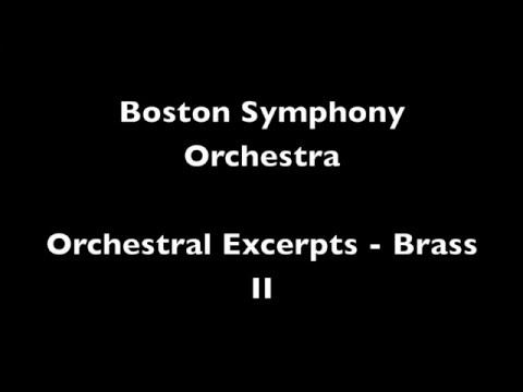 Boston Symphony Orchestra Brass Excerpts II