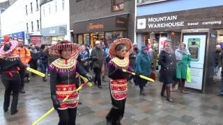 2016 Chinese New Year Celebrations Parade Perth Perthshire Scotland