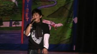 Raju Lama singing Tibetan Song Rigzin Wangmo MN 2009