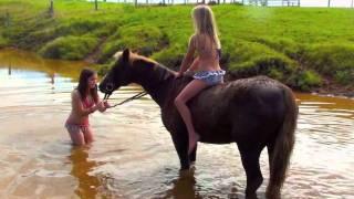 gypsy tribe swim wear/ horsing around