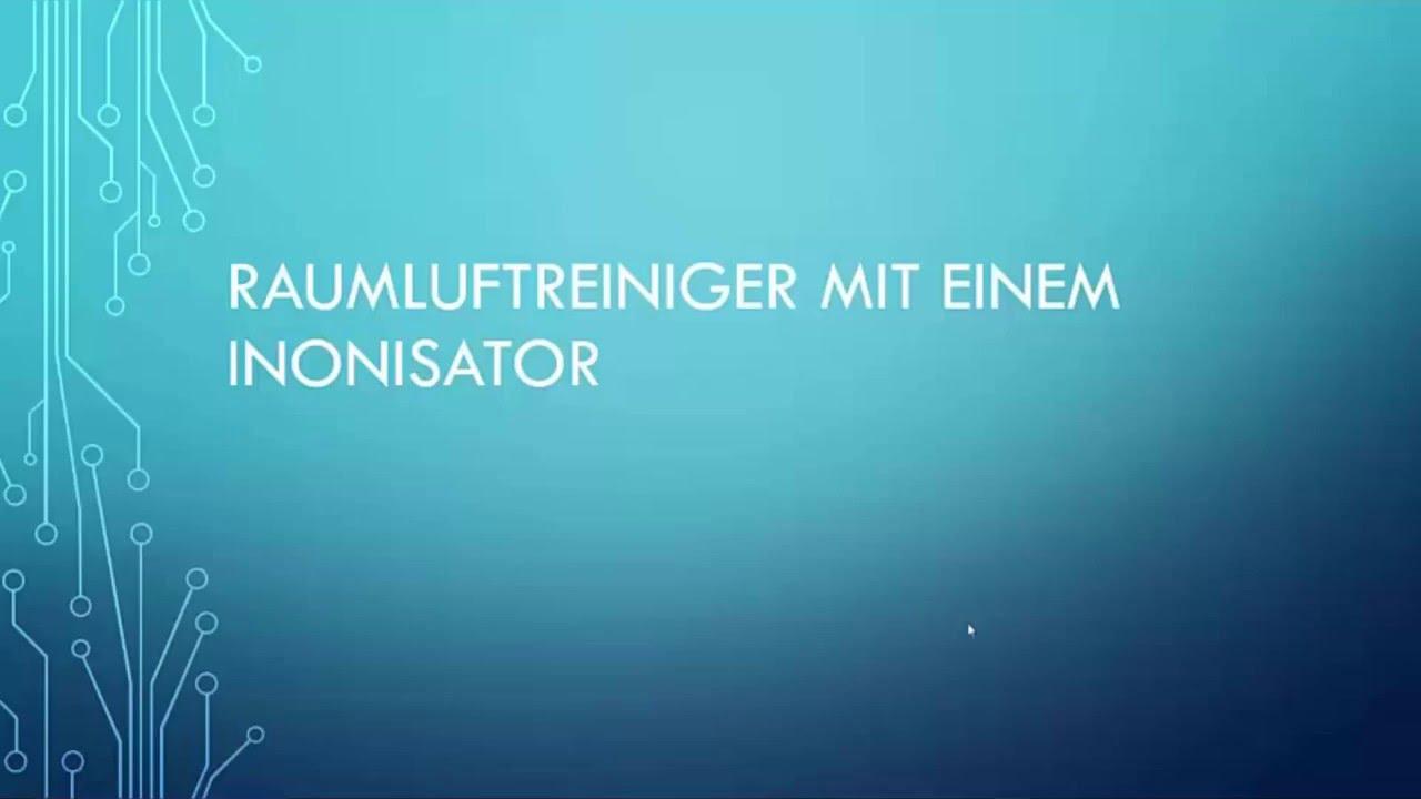 Kühlschrank Ionisator : Raumluftreiniger mit ionisator youtube