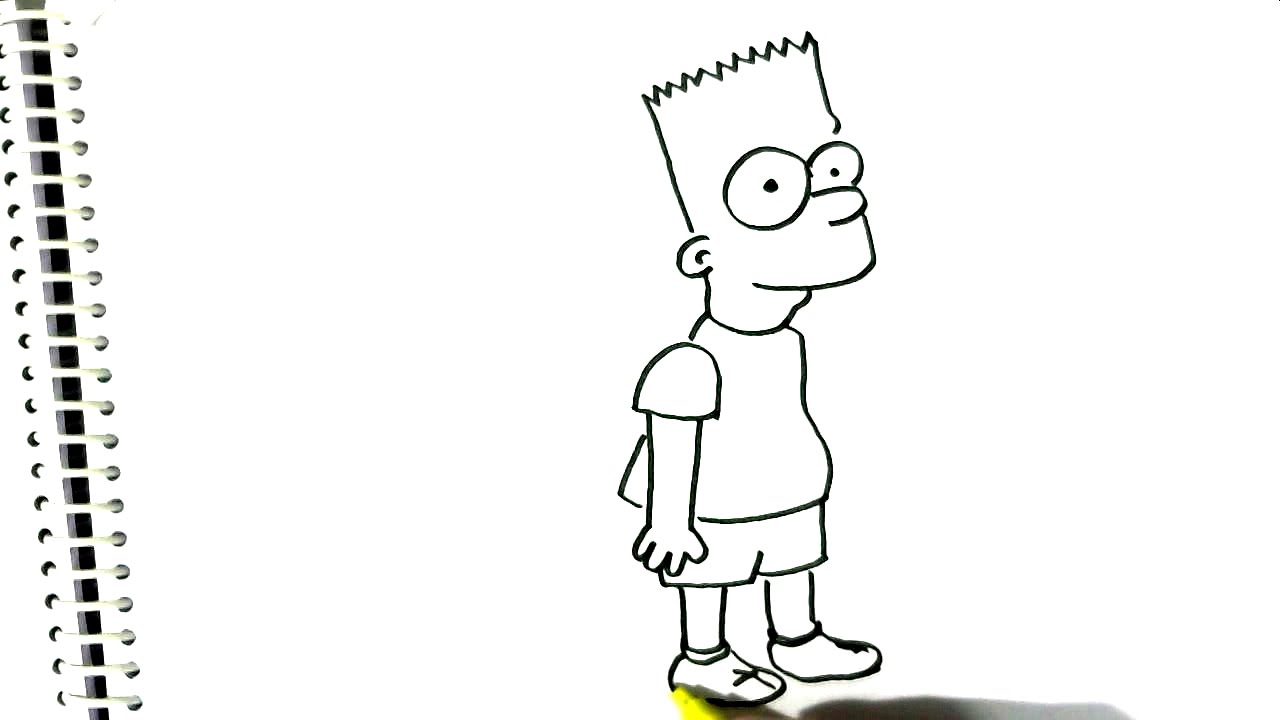Bart Simpson Drawing at GetDrawings | Free download