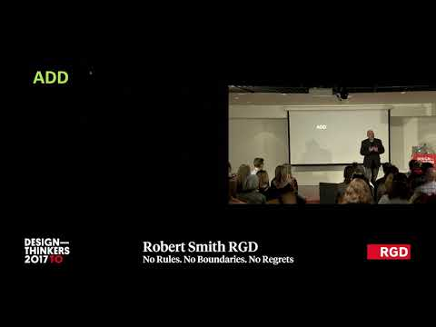 DesignThinkers Toronto 2017 – No Rules  No Boundaries  No Regret by RobertSmith