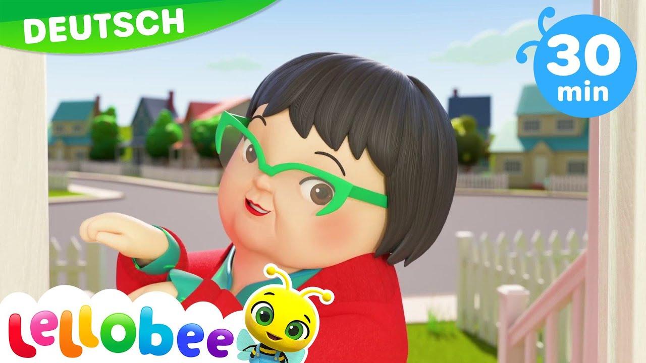 Baby Hai Lied | Kinderlieder und Cartoons | Little Baby Bum | Moonbug Kids Deutsch