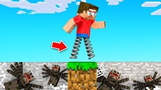 Minecraft BUT You Are ALWAYS JUMPING!?