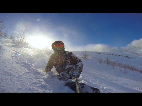 GoPro Hero 3+ Snowboard Freeride Devero