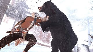 Assassin's Creed 3 Remastered Legendary Assassin Connor Hunting Bears No Hud Ultra Settings