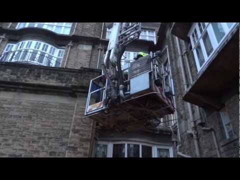 North Yorkshire Fire & Rescue Training exercise