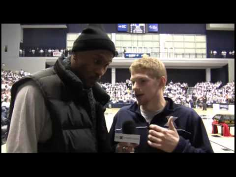 Brad with Xavier great James Posey
