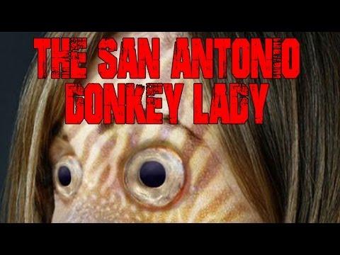 """The San Antonio Donkey Lady"""