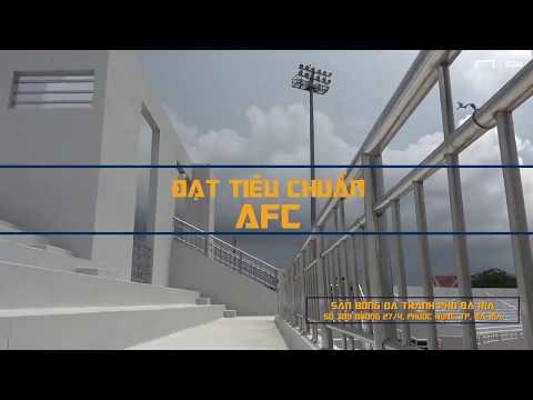 Ngắm nhìn sân vận động cực chất của CLB Bà Rịa - Vũng Tàu