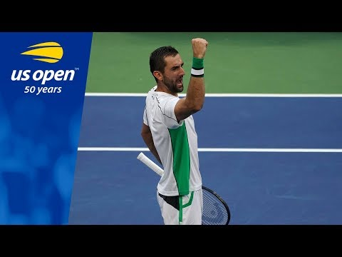 Marin Cilic's Puts In a Workmanlike Performance Over David Goffin
