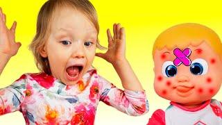 Miss Polly tenía una Dolly   Canción Infantil   Canciones Infantiles con Alex y Nastya