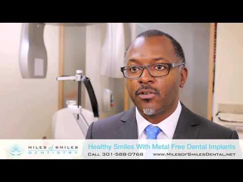 Metal Free Dental Implants Washington D.C. | Ceramic vs. Titanium Implants