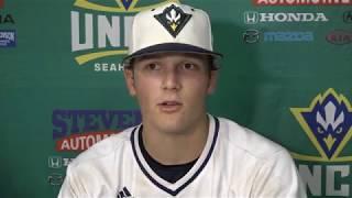 UNCW Baseball Players Postgame - UNC (May 15, 2018)