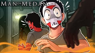 "Man of Medan - ""The Dynamic Duo is BACK!"" Ep. 1 (Delirious' View!!!!) Co-op"