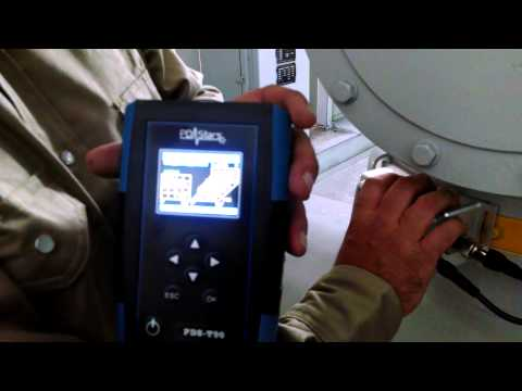 Partial Discharge online testing of GIS 110kV Gear