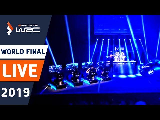 WRC eSports World Finals 2019. Season 4 LIVE SHOW using 4 Sim Racing Rigs. Powered By Hyundai.