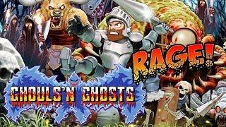 RETRO RAGE: Ghouls N Ghosts! (Arcade)