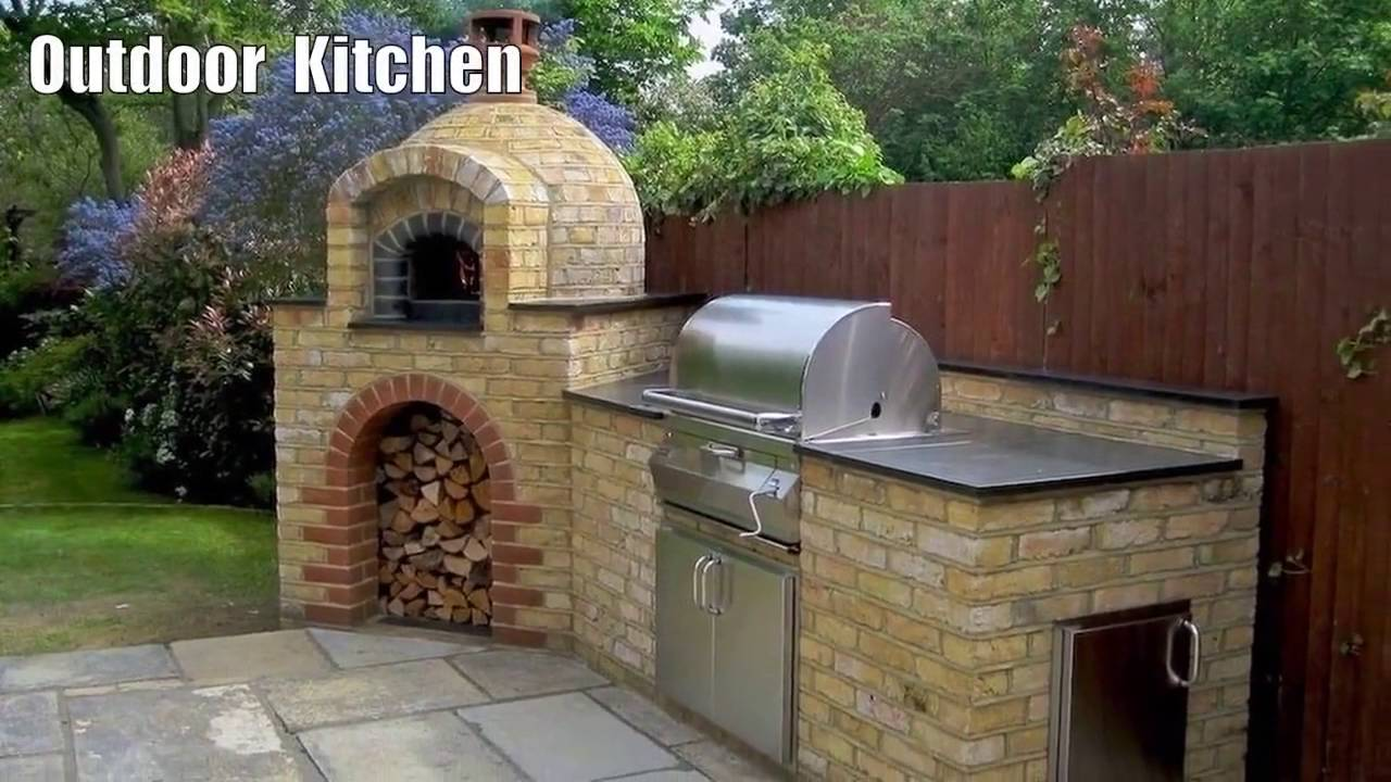 16 DIY Traditional Outdoor Kitchen Design Ideas/Pictures | Stunning ...
