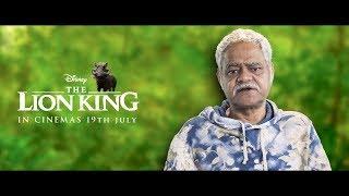 The Lion King | Pumbaa - Sanjay Mishra | Hindi | In Cinemas July 19