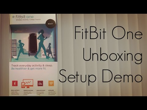 fitbit-one-unboxing-setup-demo-&-stats-dashboard---phoneradar