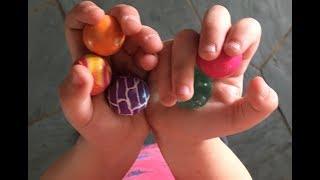 Bouncy Ball Trick Shots!