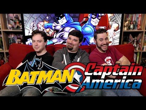 Batman And Captain America Vs Nazis! | Back Issues