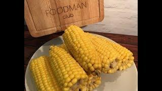 Варка молодой кукурузы
