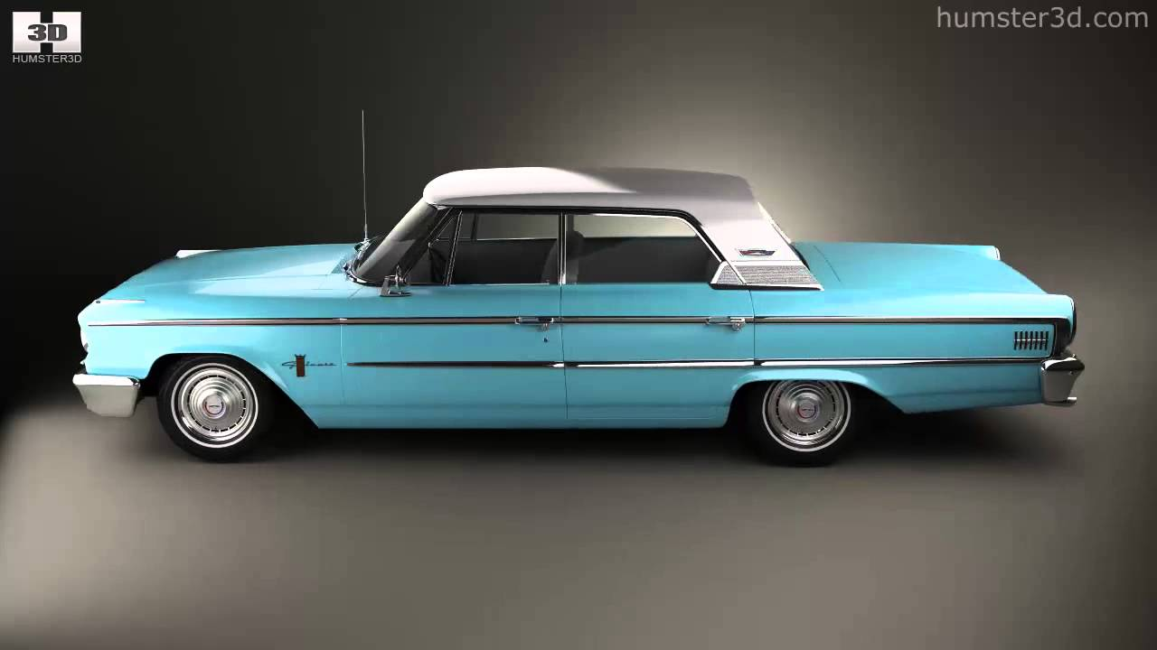 1963 galaxie 500 4 door