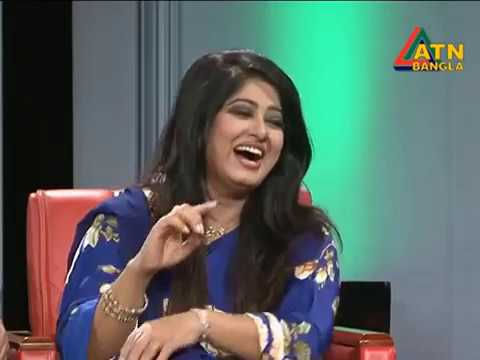 Moushumi and Omor Sunny Funny moment with  Shahriar Nazim Joy Show