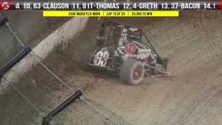 9.26.15 Four Crown Nationals:  USAC Midgets  |  USAC Sprints  |  USAC Silver Crown