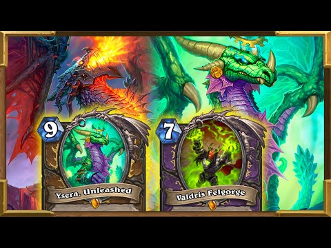 Hearthstone: Dragons Druid And Hand Size Warlock | Ysera, Valdris Felgorge