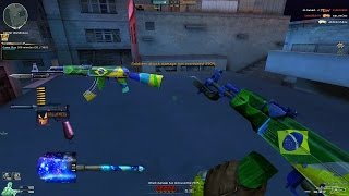CrossFire AK-47-Knife-Brazil VS Hero Mode X By [MS]Aquarius